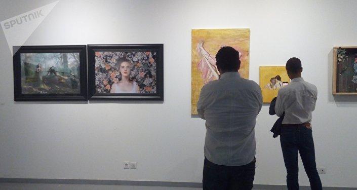 """«Vernissage de l'exposition collective """"Une idée du vivant""""»"""