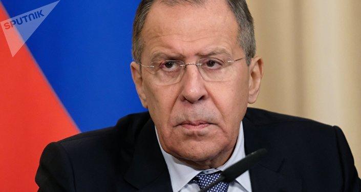 Serguéi Lavrov, el ministro ruso de Asuntos Exteriores