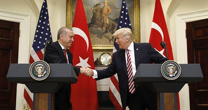 Recep Tayyip Erdogan et Donald Trump (image d'illustration)