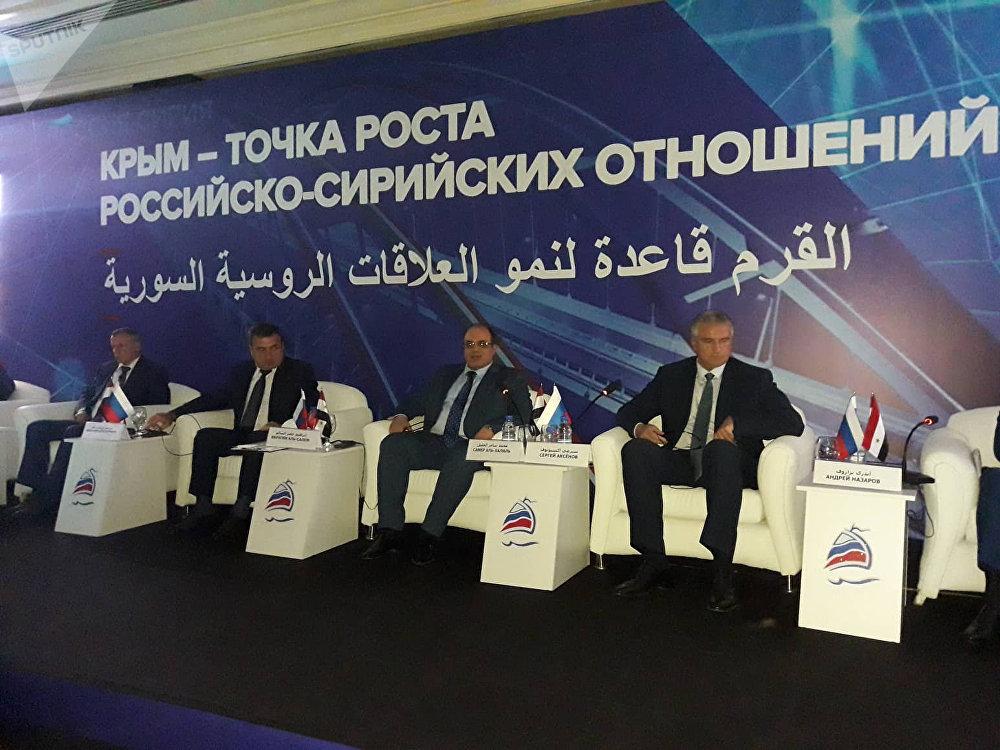 «La Crimée: un point de croissance pour les relations russo-syriennes»