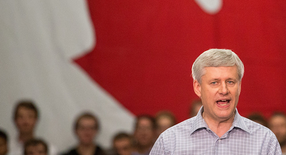 Stephen Harper. Photo d'archive