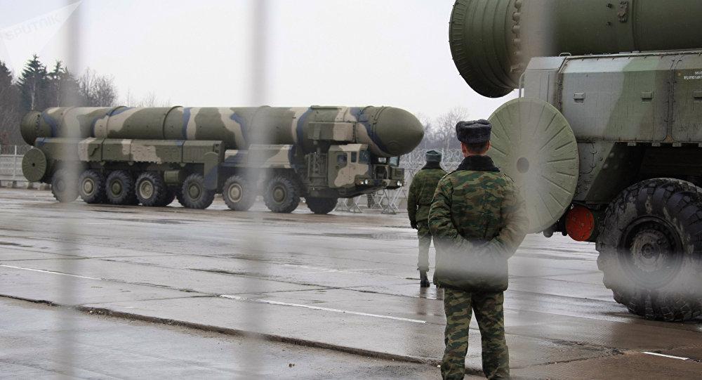 Missiles stratégiques russes Topol