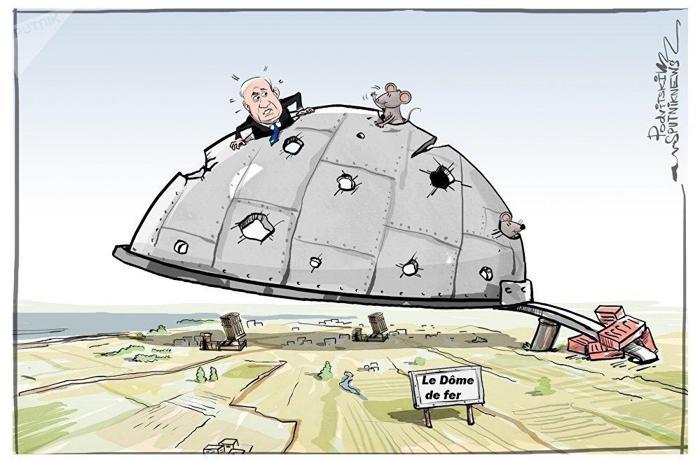 Le Dôme de fer ne couvre pas l'ensemble du territoire israélien