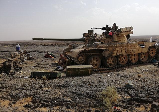 Char de l'armée syrienne
