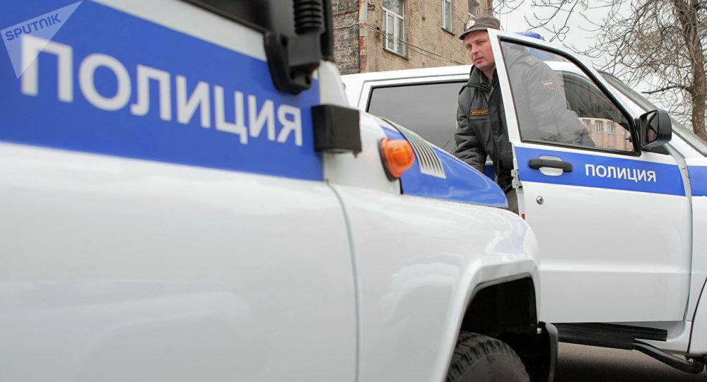 Police à Saint-Pétersbourg