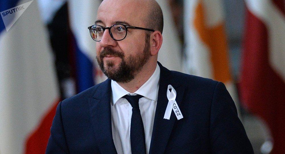 Le Premier ministre belge Charles Michel