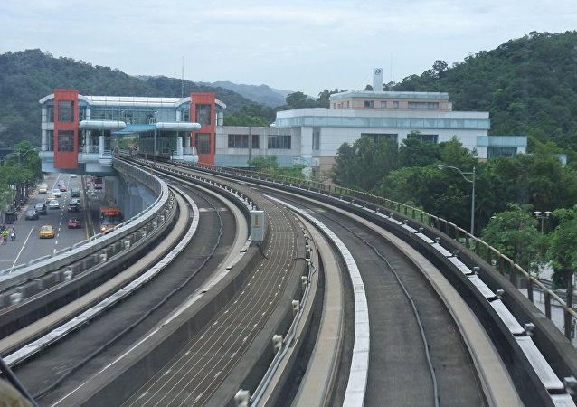 Chemin de fer à Taïwan (archives).