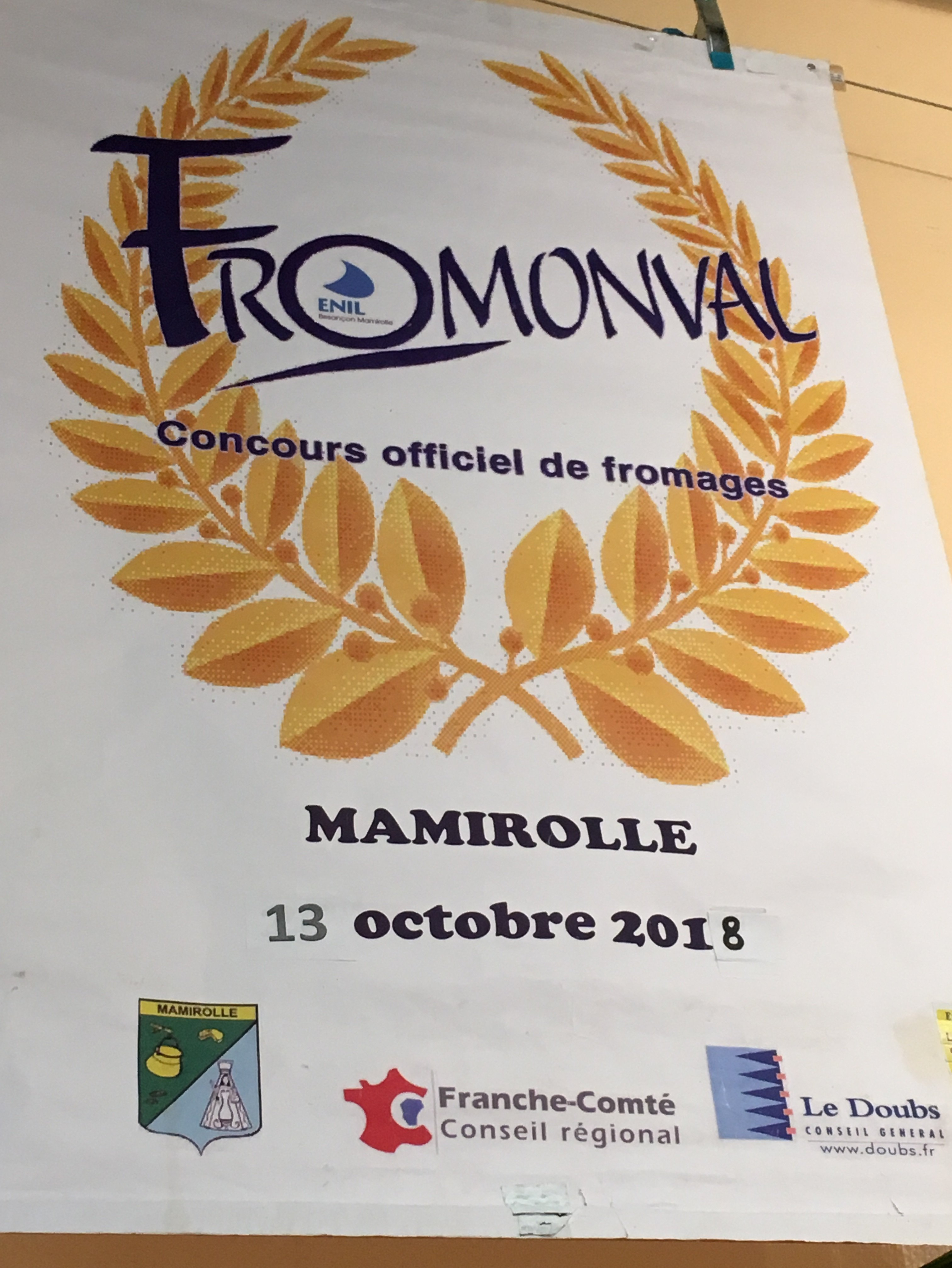 Le concours fromager Fromonval