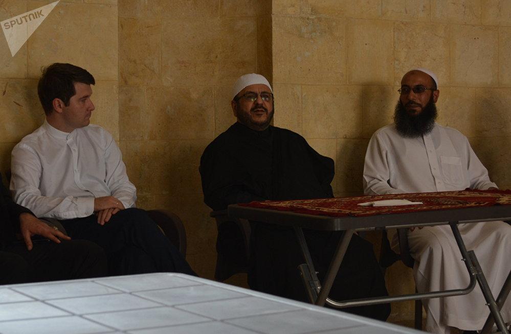 Le mufti d'Alep Mahmoud Akkam