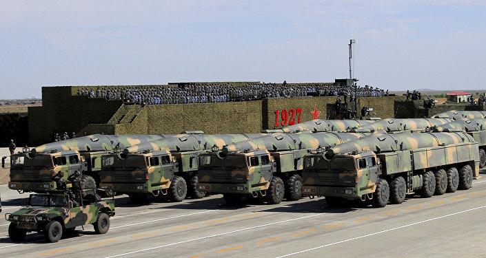 Combien la Chine possède-t-elle de missiles capables d'atteindre les USA?