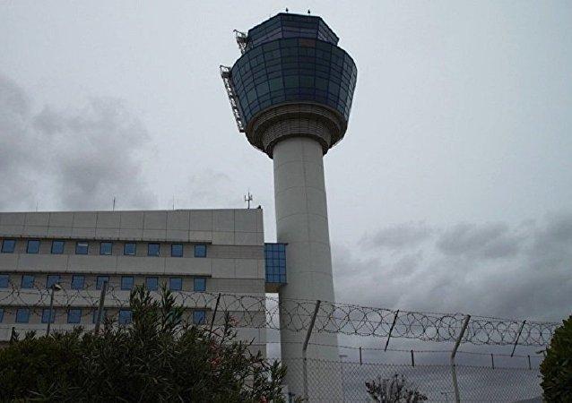 L'aéroport international d'Athènes connu sous le nom d'aéroport Elefthérios-Venizélos