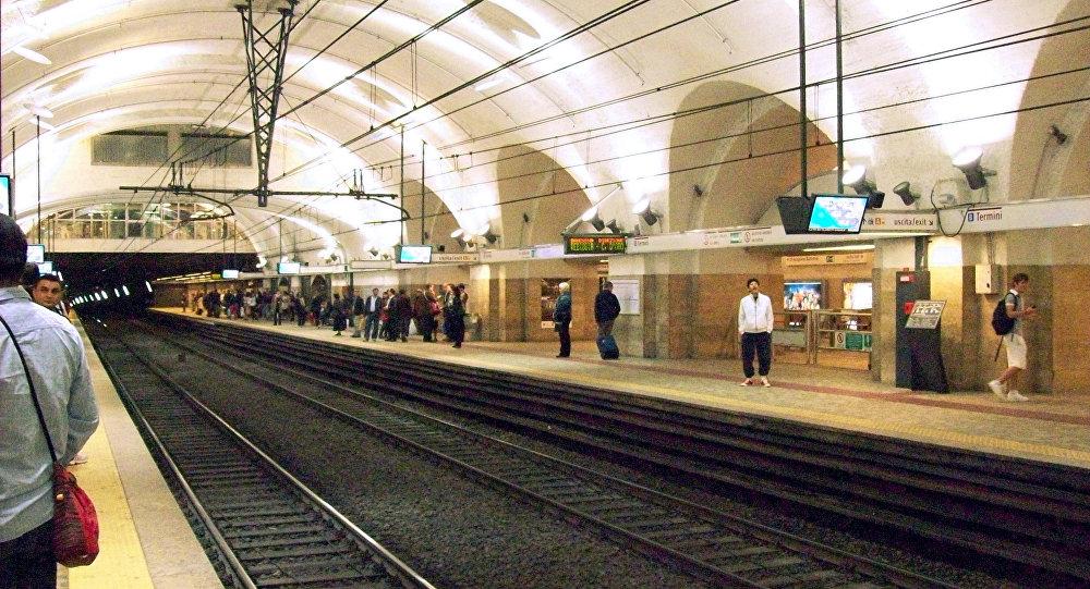 métro du centre de Rome