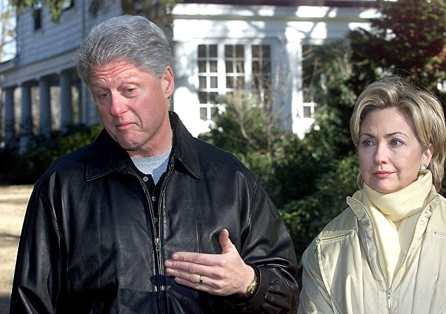 Bill et Hillary Clinton. Photo d'archive