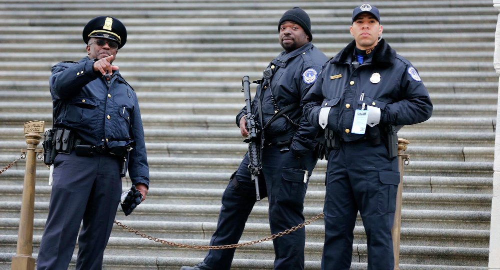 La police américaine
