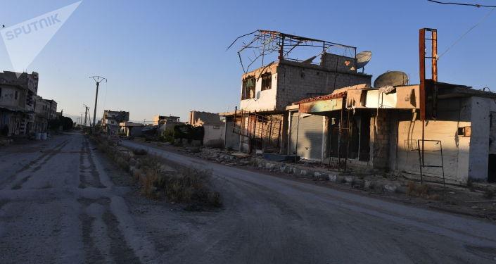 Ghouta orientale en 2017