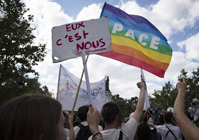 Manifestation pour l'accueil des migrants. Photo d'archive