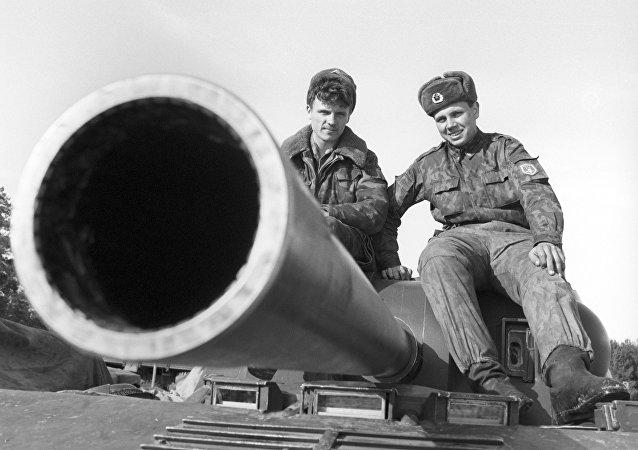 Char soviétique. Image d'illustration