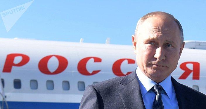 Vladimir Poutine à Istanbul