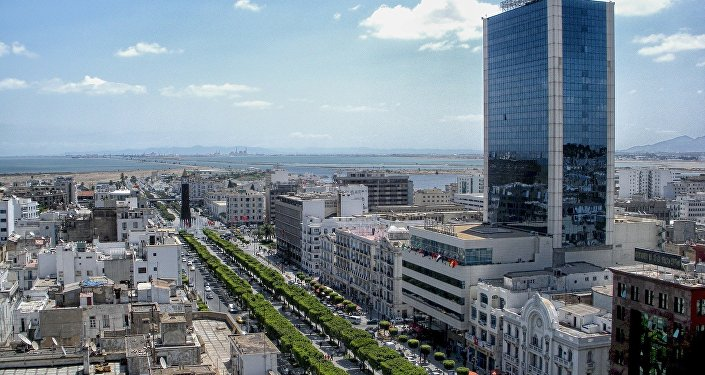Avenue Habib Bourguiba à Tunis, image d'illustration