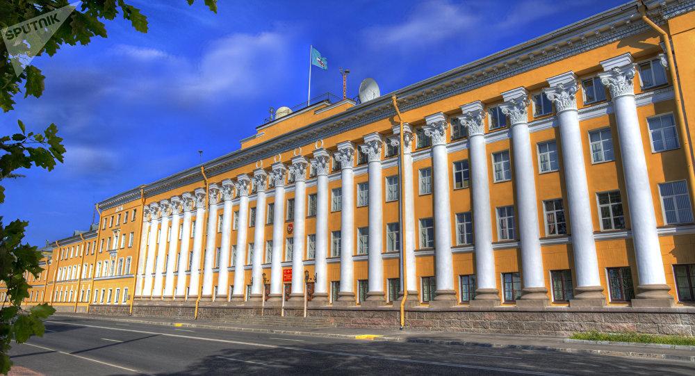 L'Académie militaire spatiale russe Mojaïski (VKA) de Saint-Pétersbourg