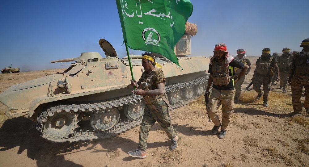 Une opération conjointe des combattants des Hachd al-Chaabi et les forces irakiennes (archive photo)