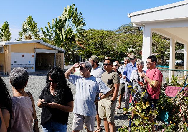 La Nouvelle-Calédonie vote lors du référendum d'indépendance