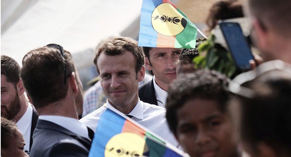 Emmanuel Macron en Nouvelle-Calédonie