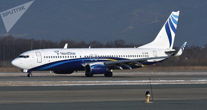 Un Boeing 737-800 de la compagnie aérienne NordStar