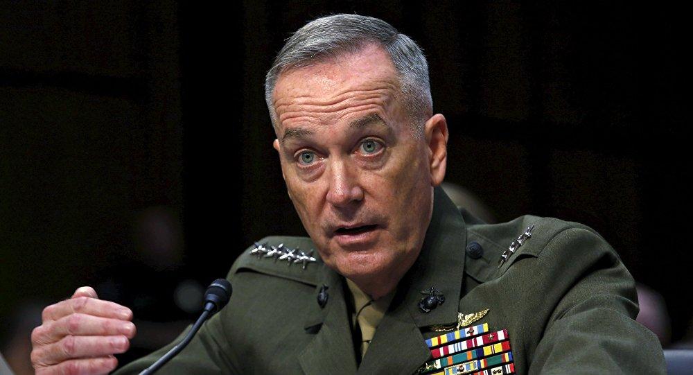 Joseph Dunford; chef d'état-major interarmées US