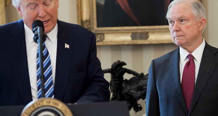 Donald Trump et Jeff Sessions