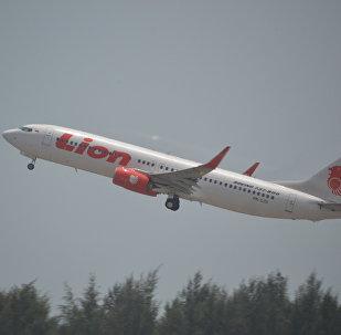 Un Boeing 737/8 of Lion Airlines (photo d'archive)