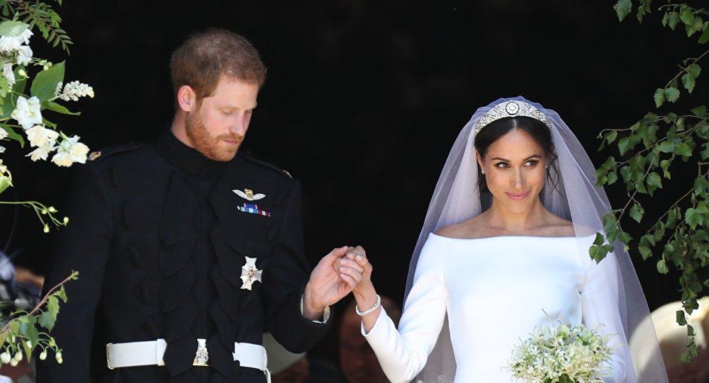 Prince Harry et son épouse Meghan