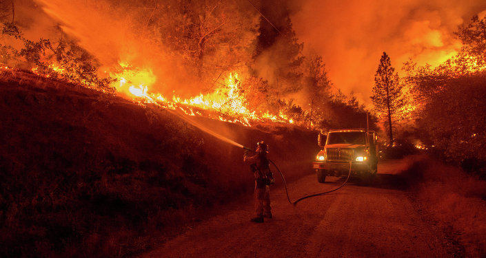 Incendie en Californie (archives)