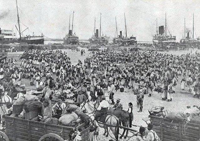 Tirailleurs algériens durant la première guerre mondiale