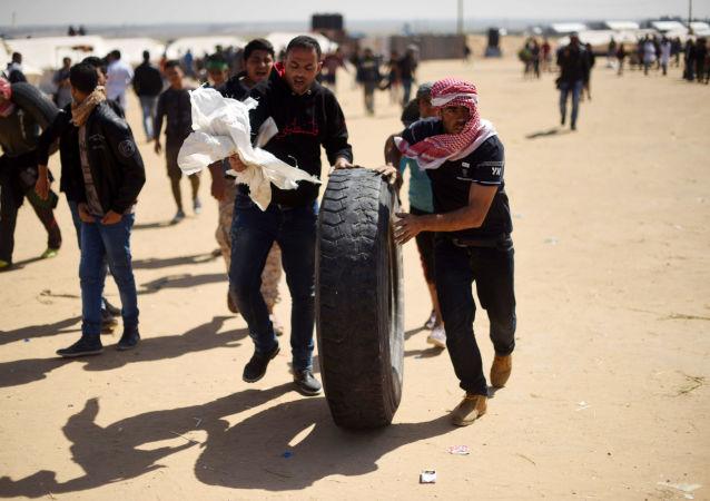 Frontière entre Gaza et Israël