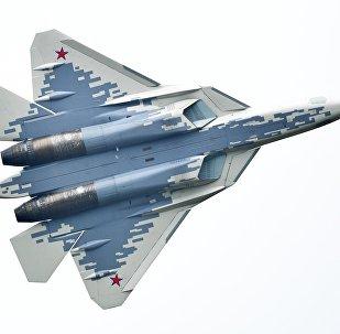 Un Su-57 participe au forum Armée-2018