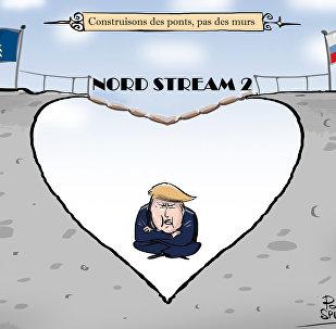 Les menaces américaines n'arrêteront pas la construction du gazoduc Nord Stream 2