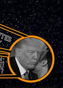 Sputnik France Trump Macron