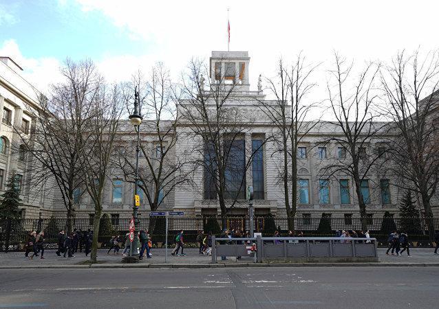 L'ambassade de Russie à Berlin