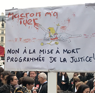 Mobilisation des avocats et magistrats contre la réforme de la justice