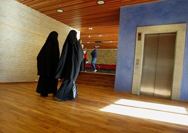 Des écolières musulmanes