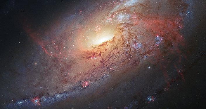 Une galaxie (Image d'illustration)