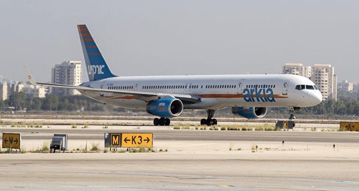 Un avion de ligne de la compagnie israélienne Arkia. Photo d'archive