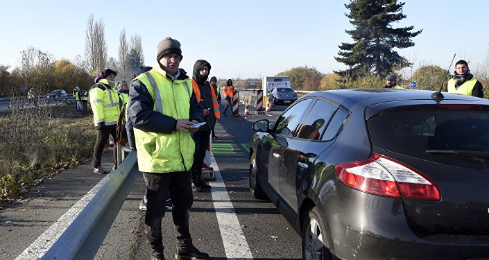 Gilets jaunes, image d'illustration