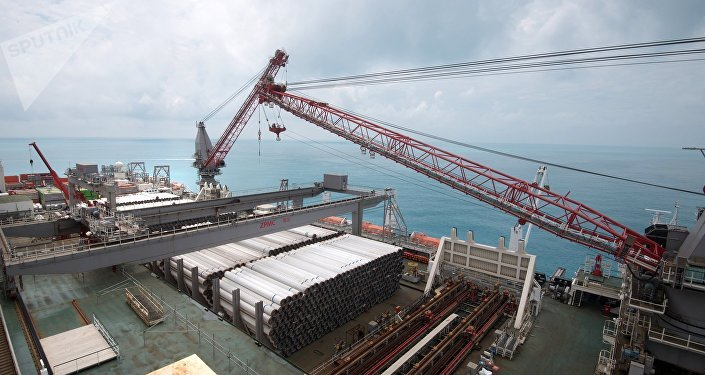 Construction du Turkish Stream (archives)