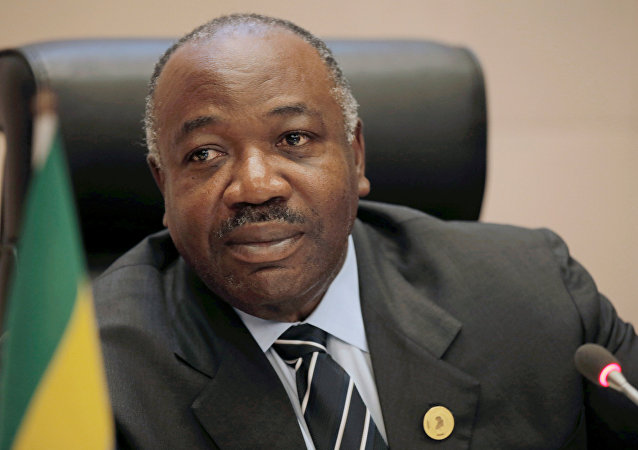 Gabon Cumhurbaşkanı Ali Bongo
