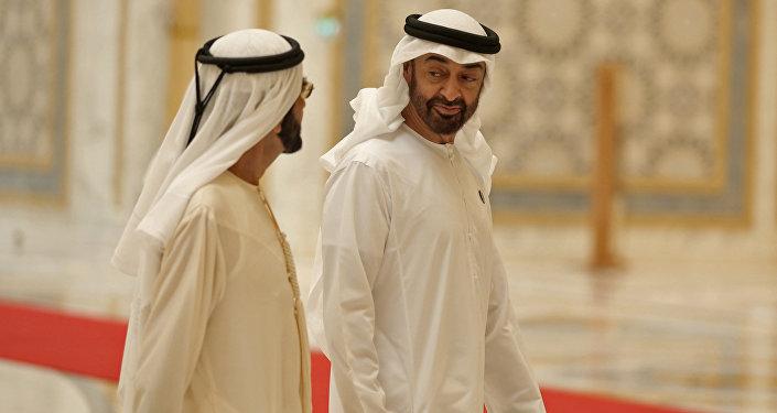 Le prince héritier d'Abou Dhabi, Cheikh Mohammed bin Zayed Al Nahyan