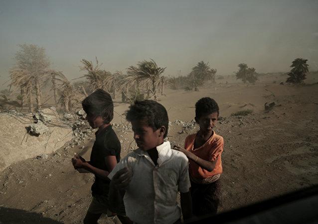 Des enfants yéménites (image d'illustration)
