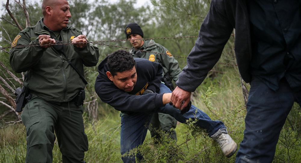 La frontière avec le Mexique