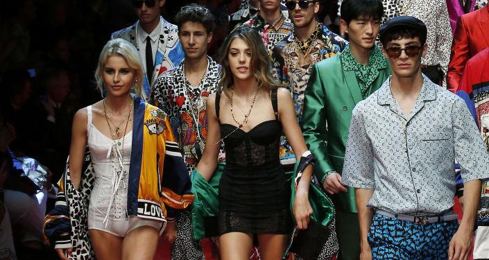 Défilé de Dolce & Gabbana